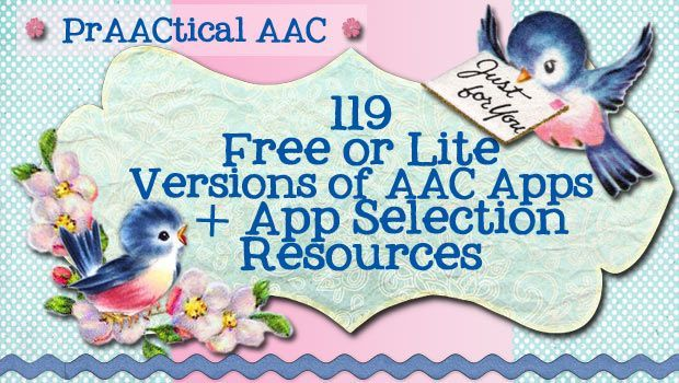 119 Free or lite versions of AAC apps