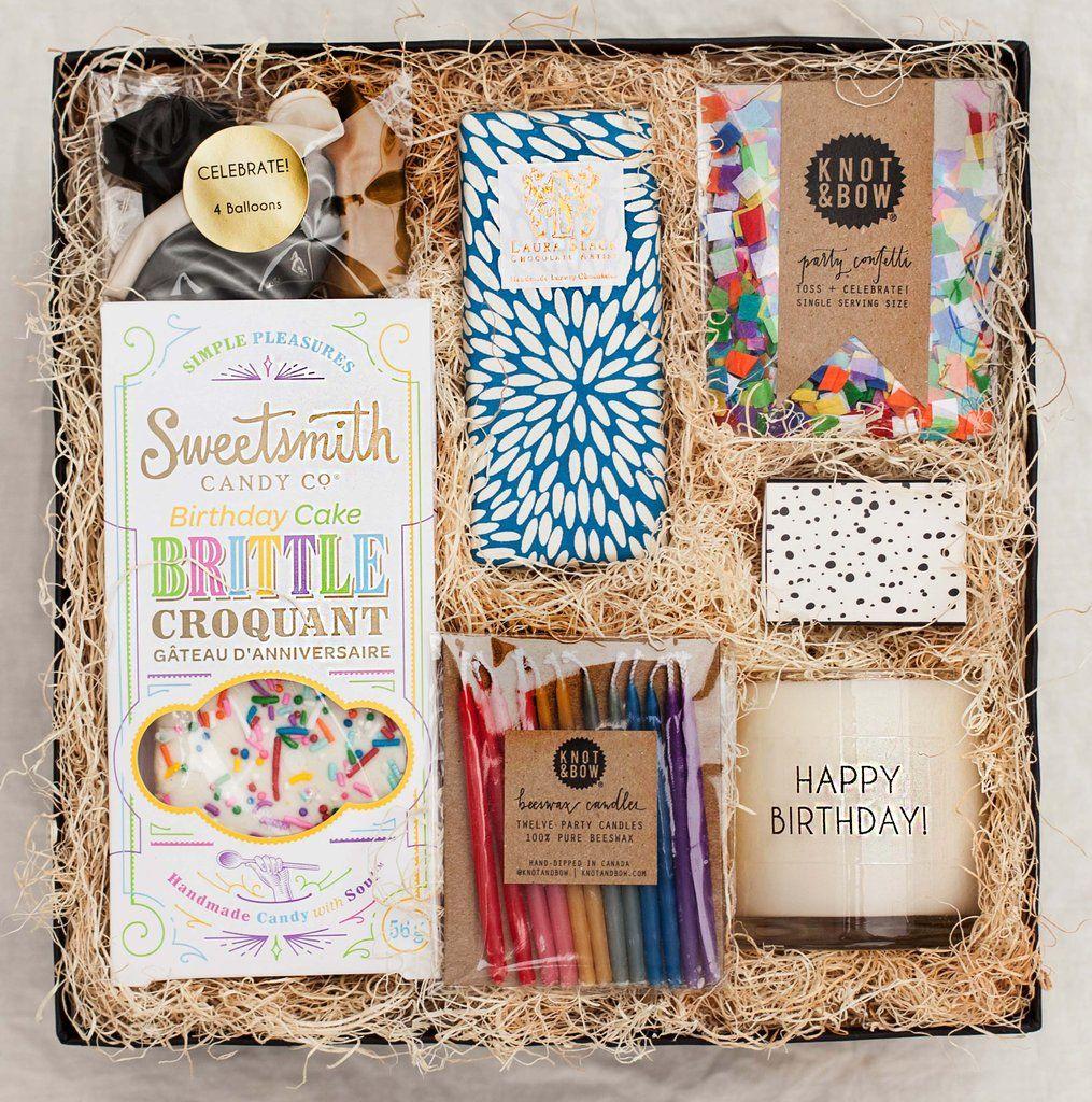 Birthday Box Celebrations Parties Decor Birthday Box