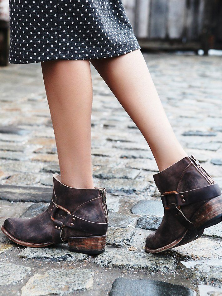 """Free People Quartz Ankle Boot, $278.00 I am actually posting this one because I am NOT sure what to think about it...I think it takes the distressed look overly far, and although I do love that they're ankle boots and """"rough"""" looking, I'd have to try them AND see how comfortable they are.  Thoughts?"""