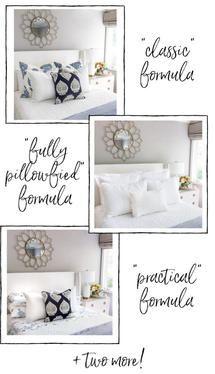 How to Arrange Pillows on a Queen Bed Five Simple