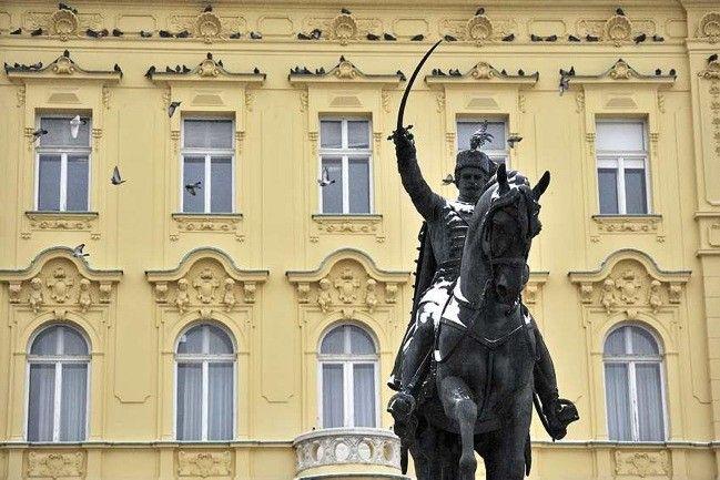 Statues In Zagreb Ban Josip Jelacic Likecroatia Zagreb Croatia Thousand Islands