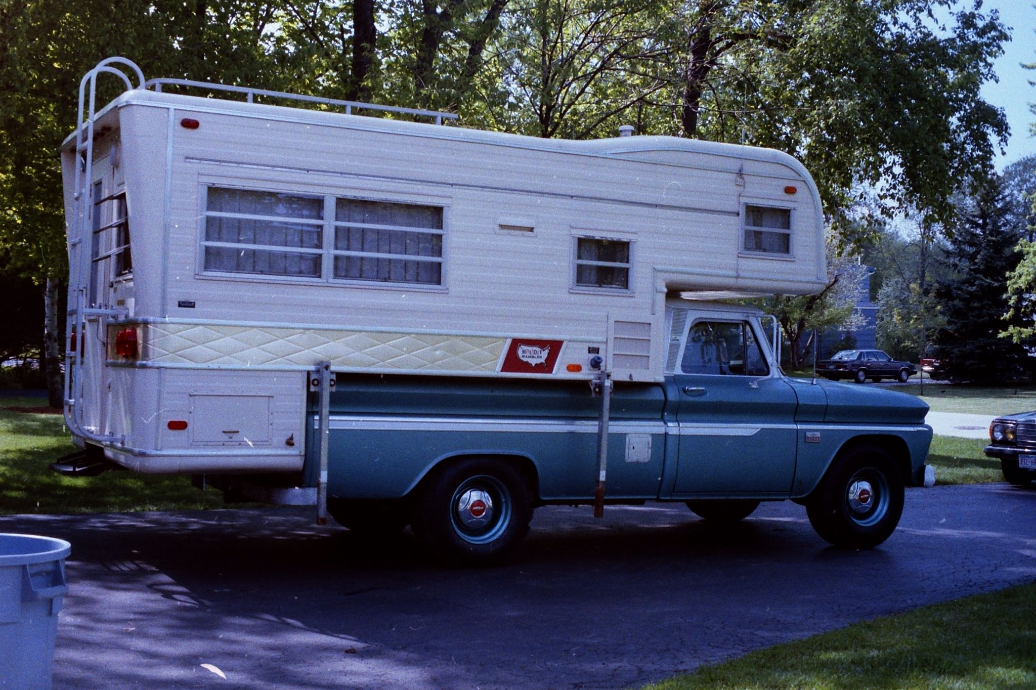 Check out my 1966 C-20 Chevy and 1969 Holiday Rambler