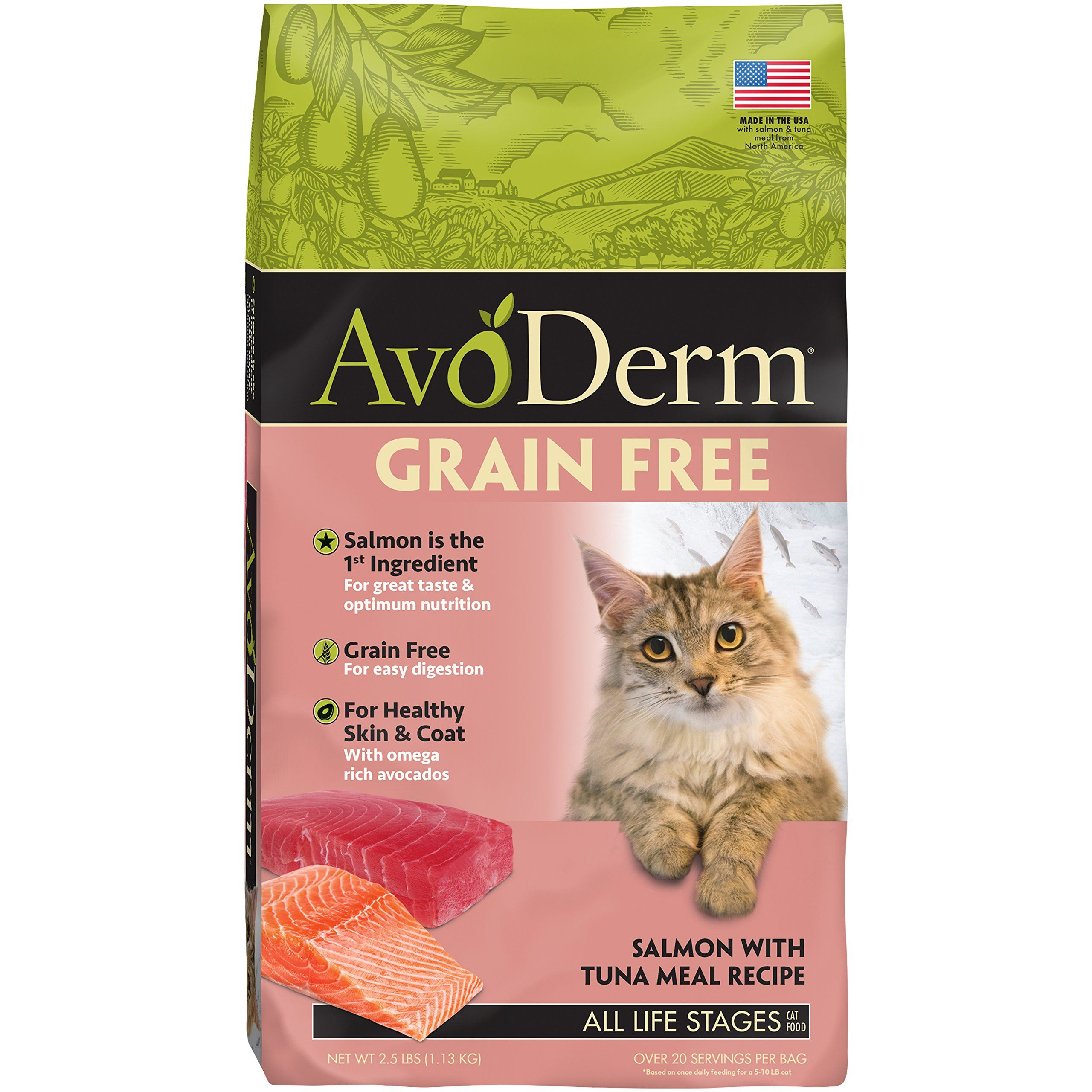 AvoDerm Natural Grain Free Wet and Dry Cat Food, Tuna