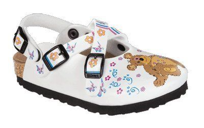 7d999f0d2ea Birkis clogs Mili from Birko-Flor in Teddy Bear White with a narrow insole  Birki s.  53.89. Birko-Flor