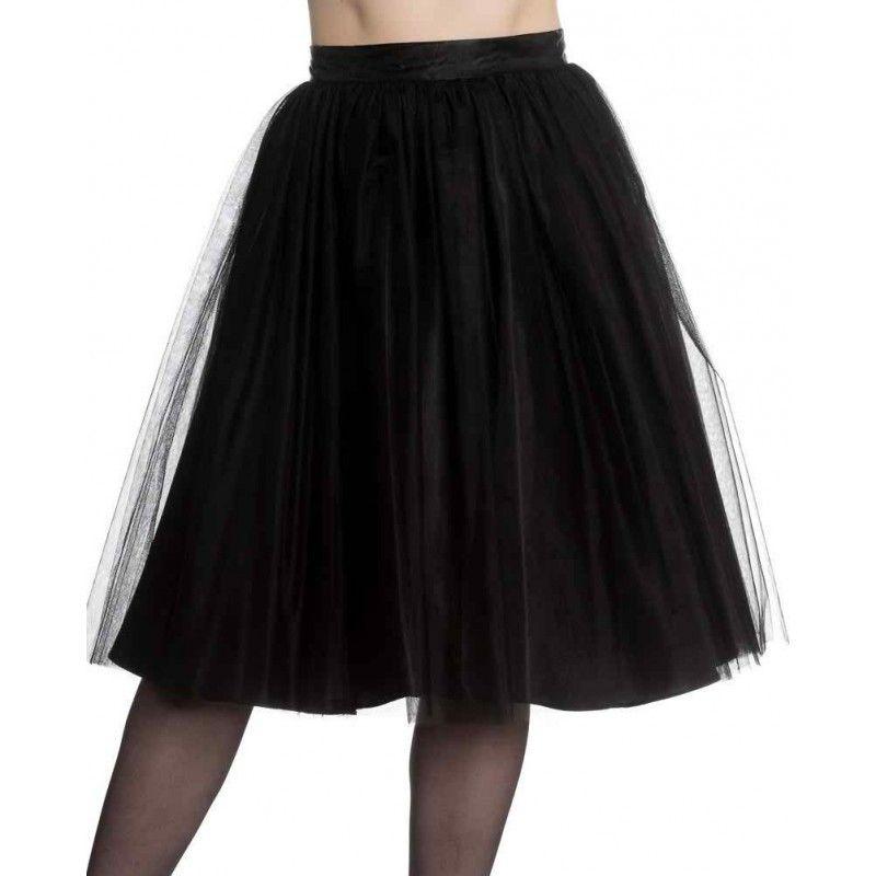 Hell Bunny - Ballerina Black Skirt