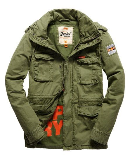 wholesale dealer 7e837 328f6 Superdry Rookie Military Jacke | Jackets | Jacken, Military ...