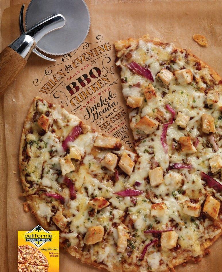 California Pizza Kitchen Food Typography Jessica Hische Pizza