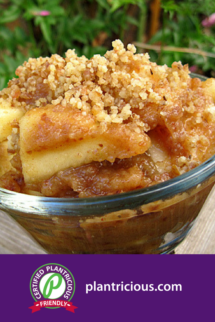 Raw Apple Crumble - Straight Up Food