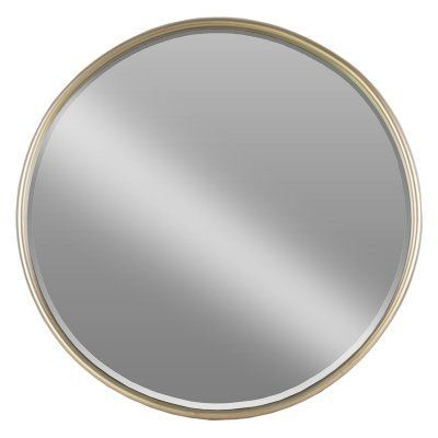 Urban Trends Small Round Mirror With Tubular Frame And Window Box 32258 Small Round Mirrors Mirror Round Mirrors