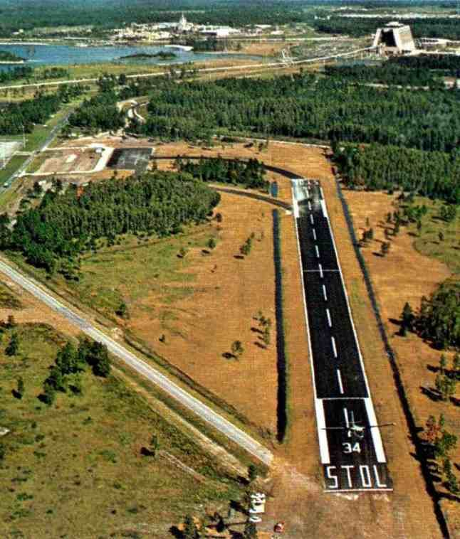 The Abandoned Walt Disney World Airport