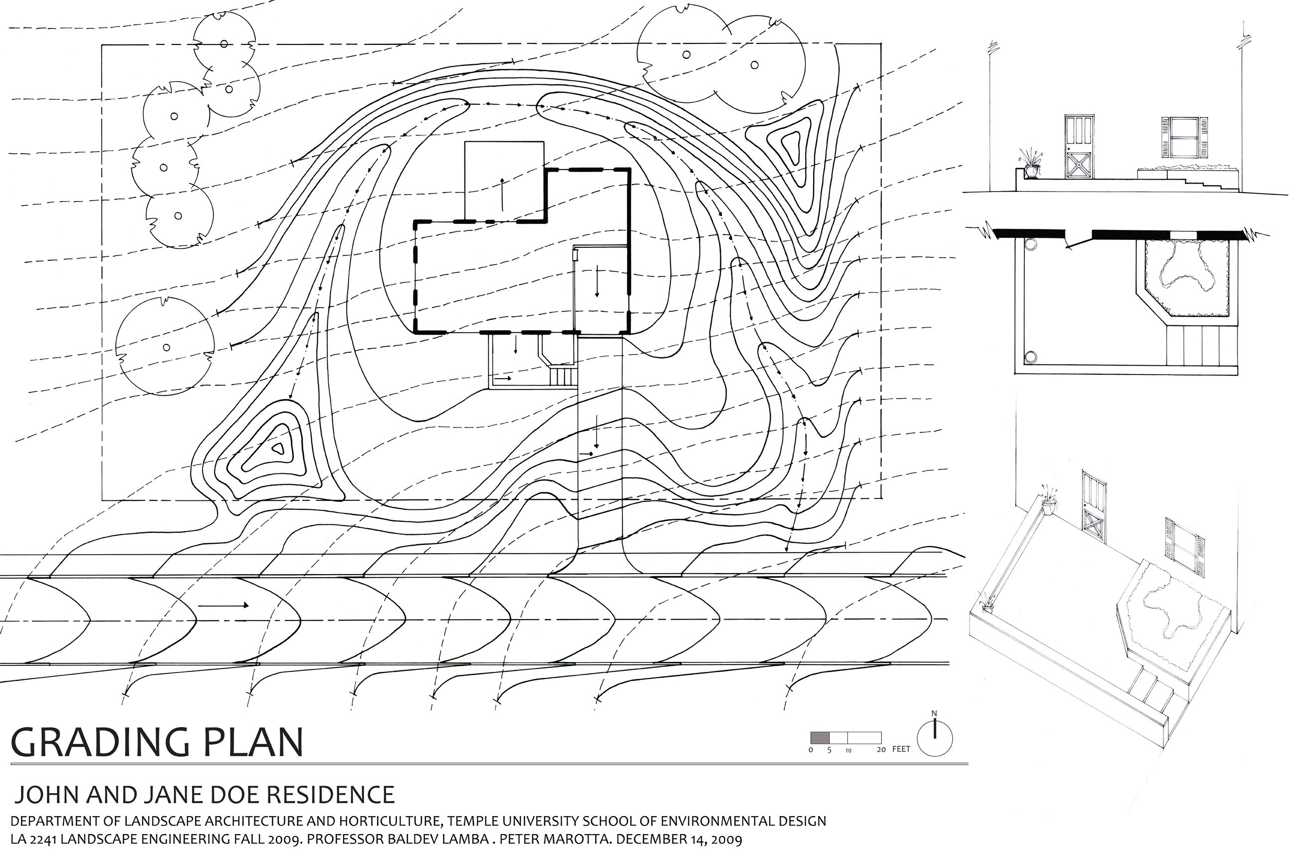 Image Result For Landscape Grading Examples