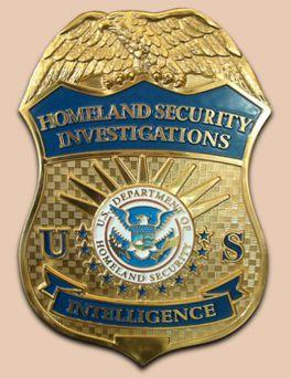 department of homeland security officer badge