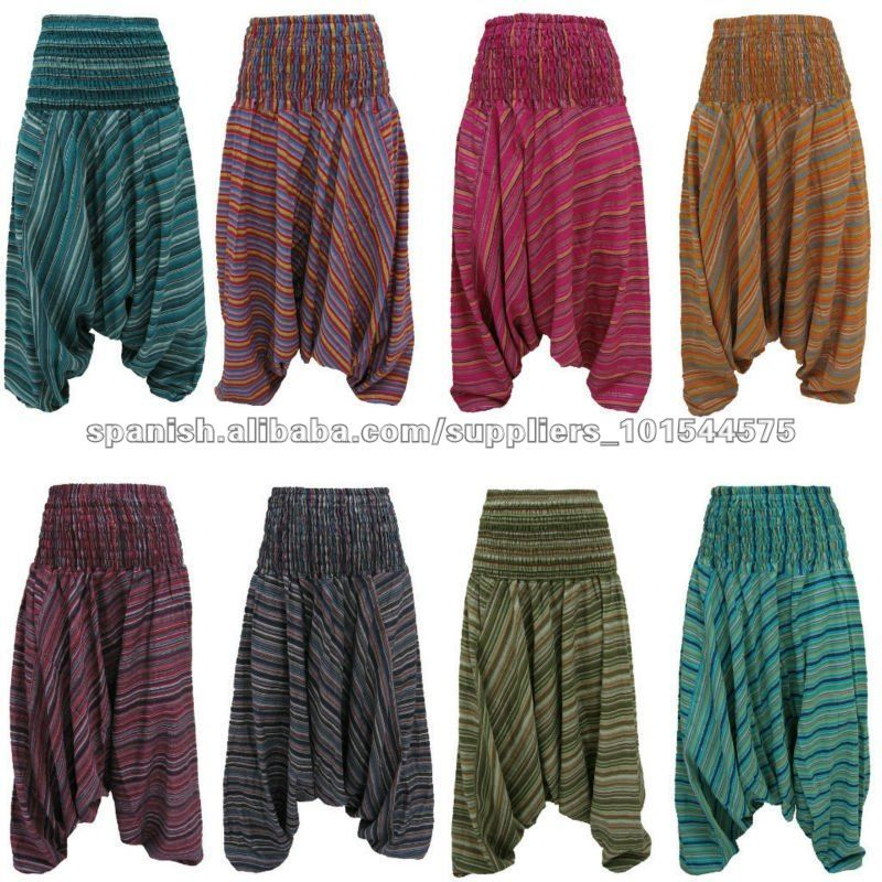 d7a0225df94219 Silk Harem Trouser Baggy Genie Alibaba Aladdin Pants Trouser Jumpsuit Boho  Hippie Pant - Gypsy pants