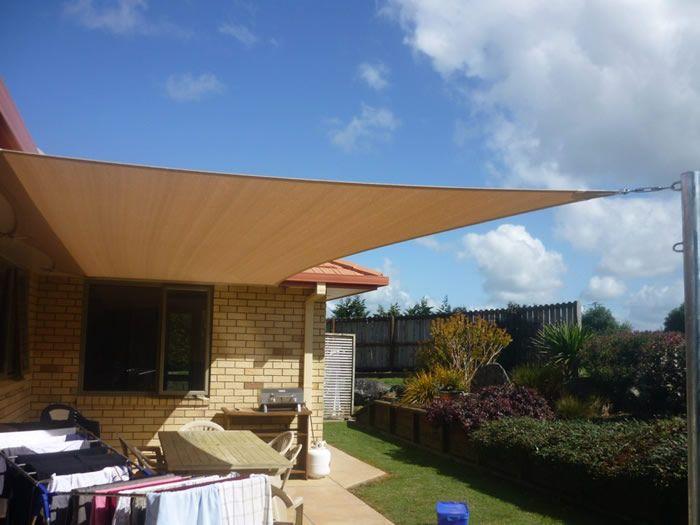 shade sail patio shade structures