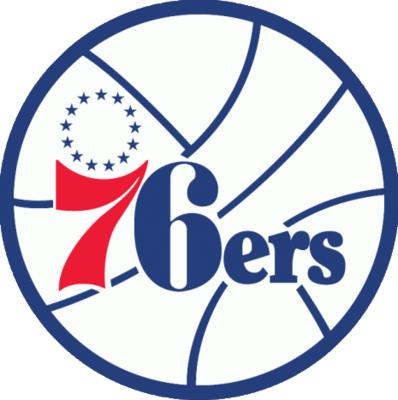 b0bc0b0818c Philadelphia 76ers Logo   NBA Team Logos   Sports logo, Basketball ...