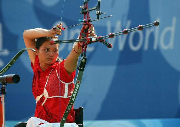 Fu Hongzhi Fu Hongzhi in Paralympics Day 9 Archery