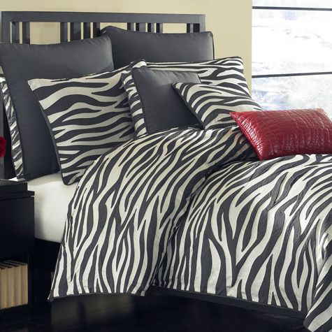 Zebra Bedding Collection