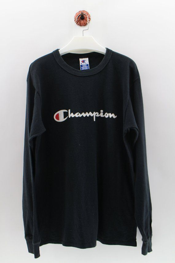 96810868456 CHAMPION Product Pullover Jumper Unisex Large Champion Spel lOut Big Logo  Streetwear Sweatshirt Cham