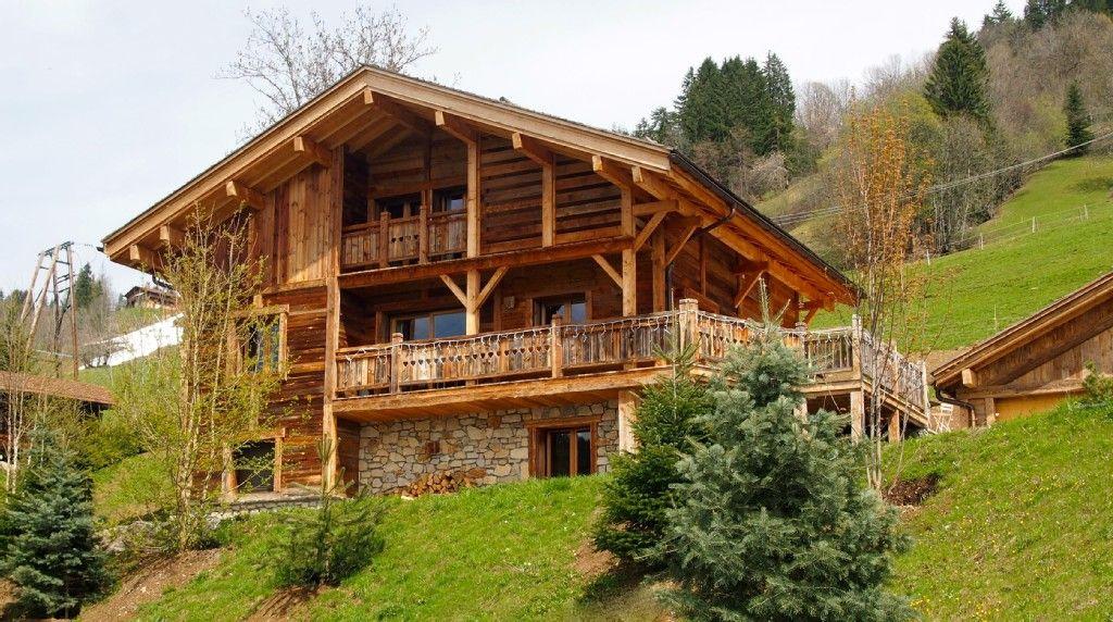 Chalet Le Grand Bornand - Chalet individuel luxe au grand bornand avec prestations haut de gamme 629903 | Abritel