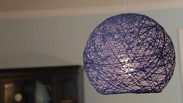 Learn How To Make A Lampshade Lanterns And Yarn Globes