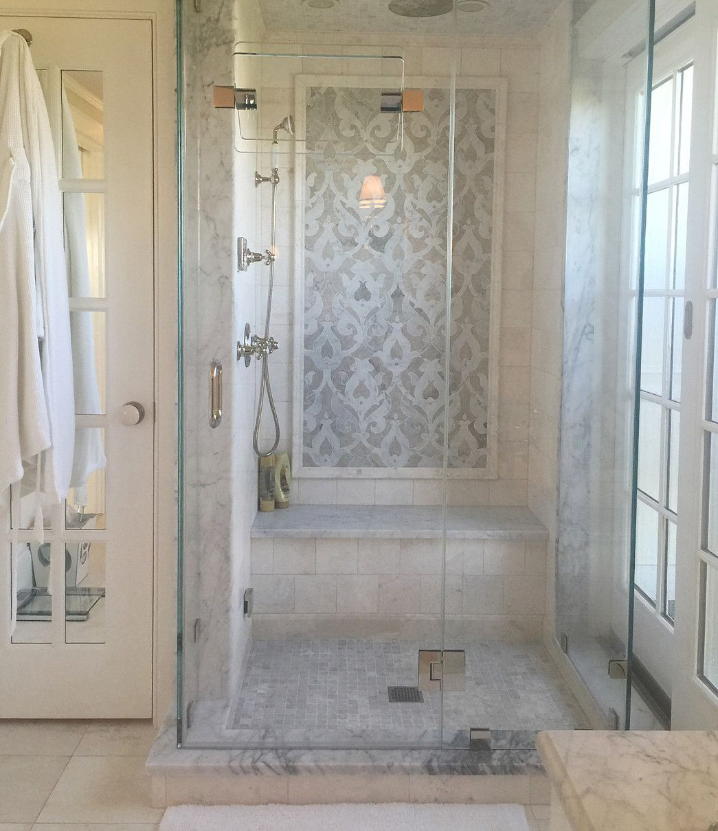 Playful Soft And Elegant Jewelry Box Inspired Beach House Bathroom Remodel Master Bathrooms Remodel Bathroom Shower Tile
