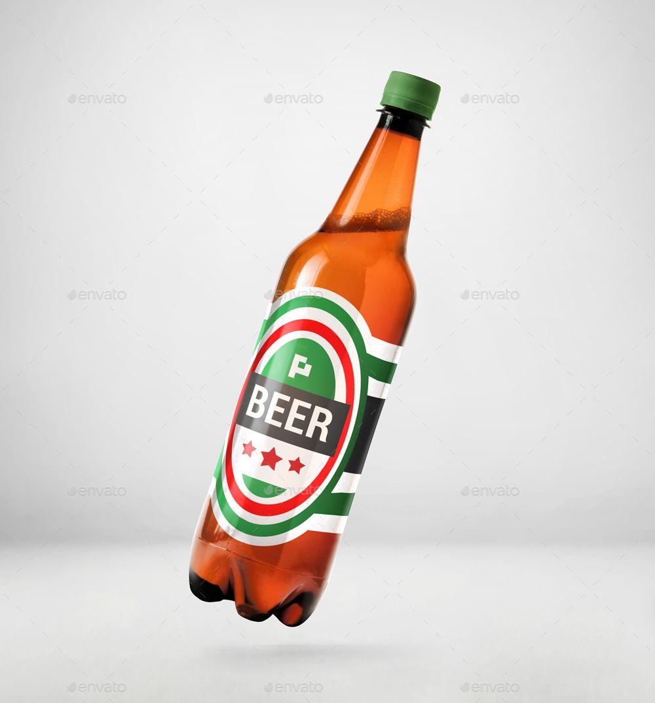 Plastic Beer Bottle Mockup 2 Ad Beer Ad Plastic Mockup Bottle Bottle Mockup Beer Bottle Beer
