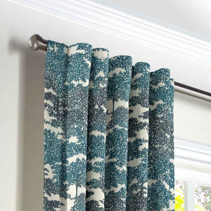 Custom Back Tab Curtains Drapes