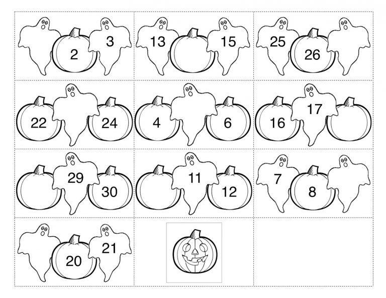 Free Printable Number Chart 1-30   Free printable numbers ...