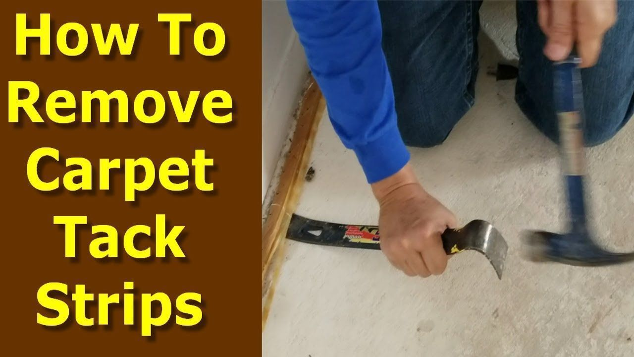 Carpet Installation Tools The Best Tool To Remove Carpet Tack Strips And Desc Carpet Carpetinstallation Des In 2020 With Images Removing Carpet Carpet Carpet Installation