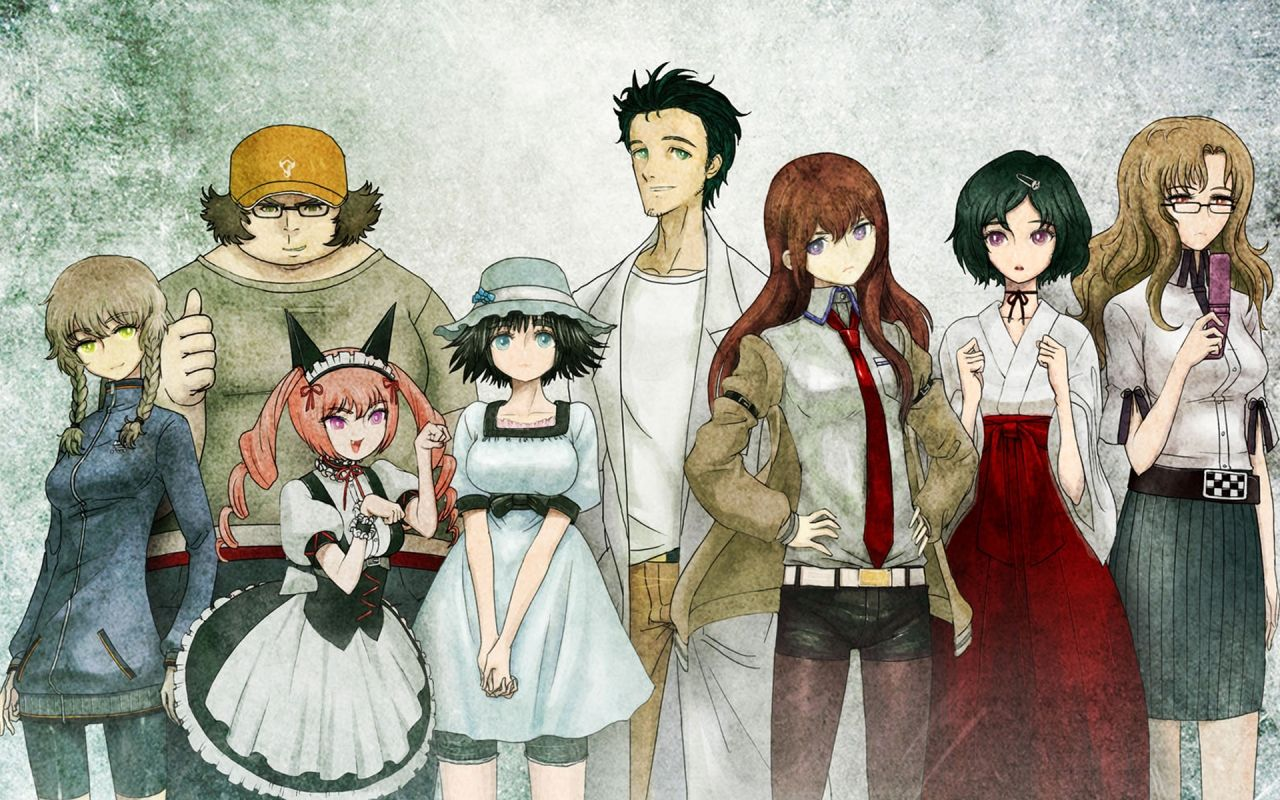 Steins Gate Desktop Backgrounds Hd 3941 Images アニメ シュタゲ