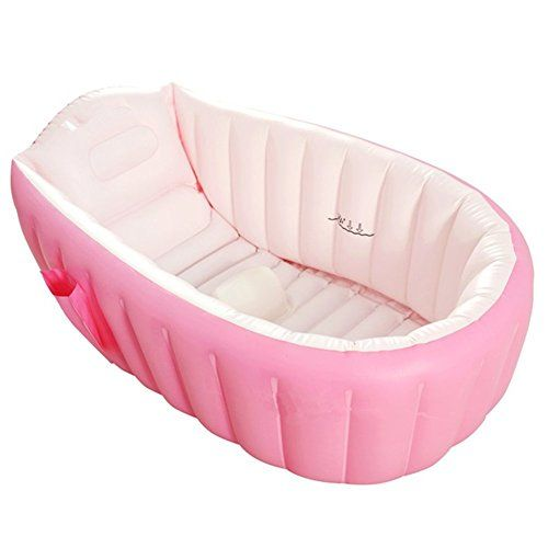 kf445 large capacity baby inflatable bath tub plastic air. Black Bedroom Furniture Sets. Home Design Ideas