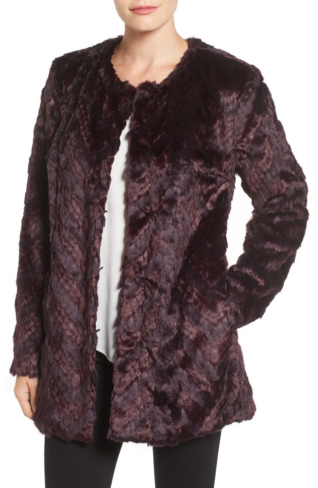 Tiered Faux Fur Topper (Online Only)
