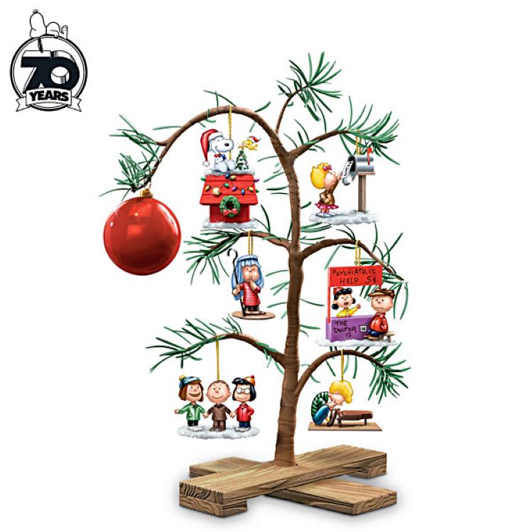 The Charlie Brown Tree The Bradford Exchange In 2020 Charlie Brown Christmas Tree Peanuts Christmas Tree Peanuts Christmas