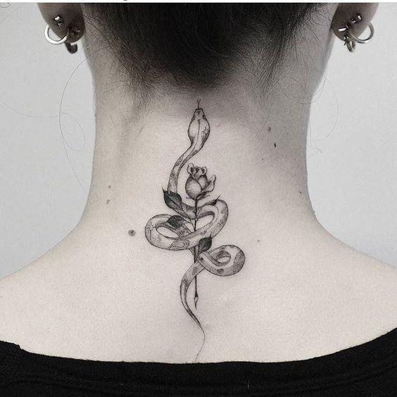 20 Tatuajes inspirados en serpientes; el símbolo de la renovación en tu vida