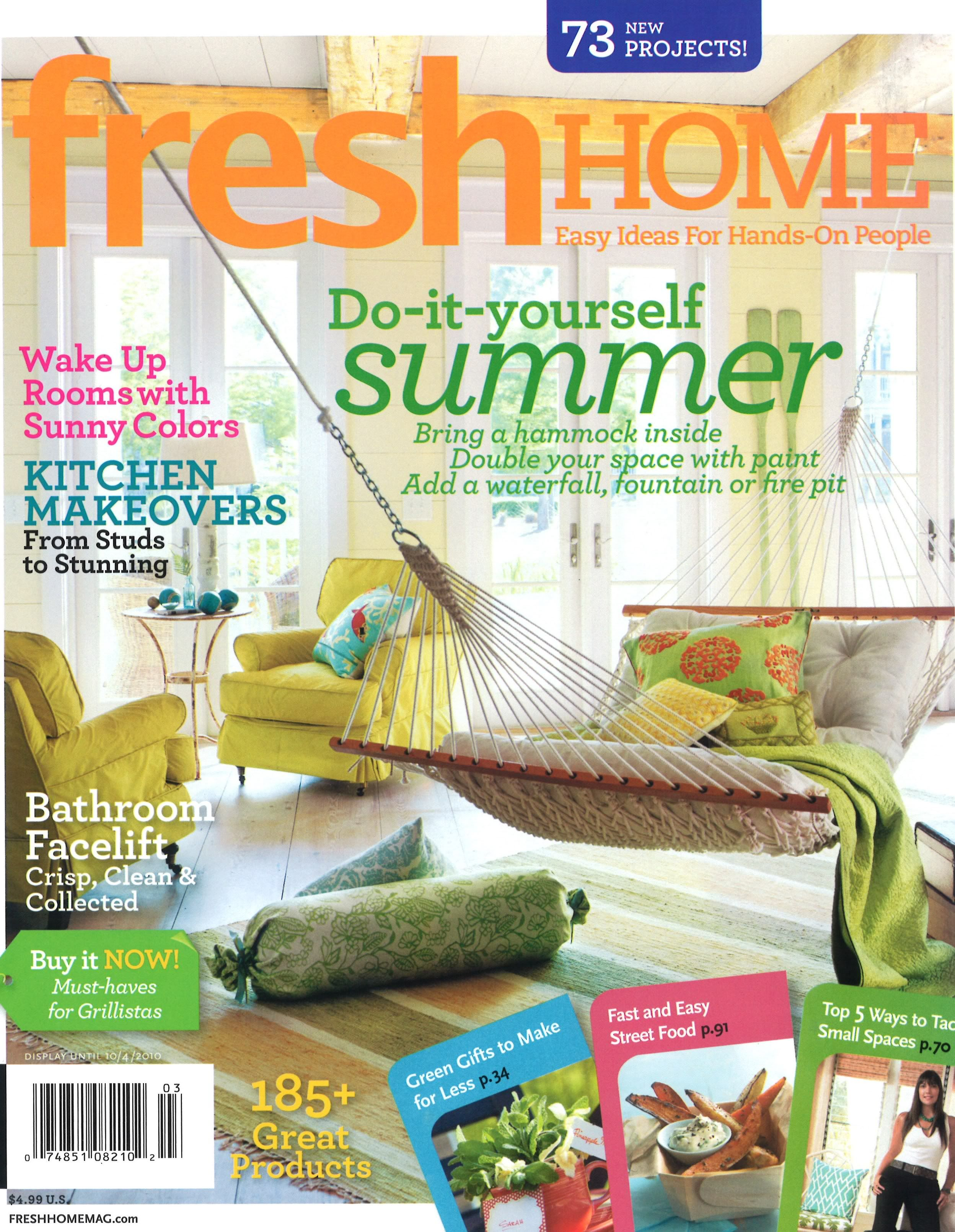 Fresh Home Magazine Is Relatively New To The Market And Focuses On Home  Decor, DIY