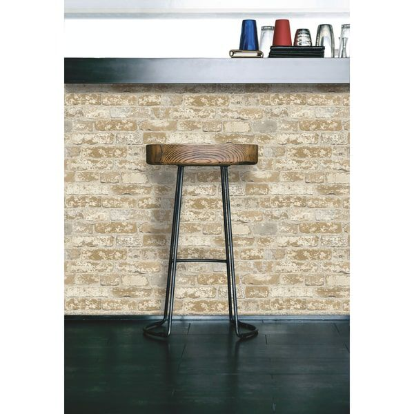 Wall Decor Brown Brick Temporary Decorating Decorating Solutions