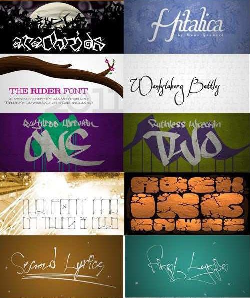 113 Font Collection Fonts English Fonts Collection