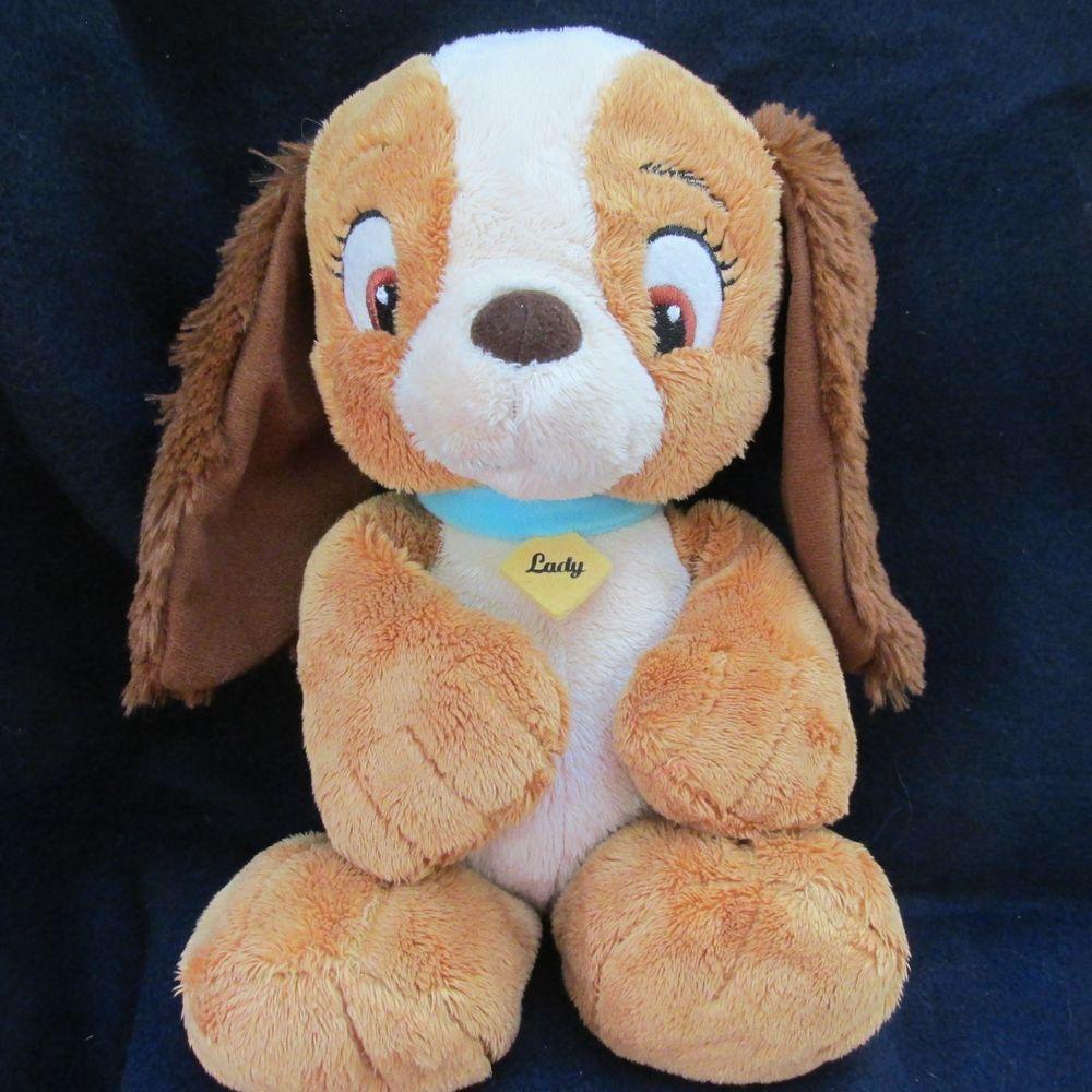 Magnificent Disney Baby Lady The Tramp Puppy Dog Bean Bag Plush Animal Customarchery Wood Chair Design Ideas Customarcherynet