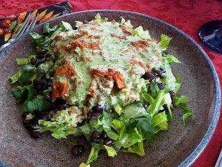 Veganized Homemade Cafe Rio Salad