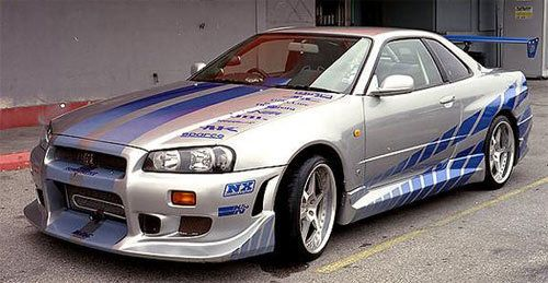 1999 Nissan Skyline GT R R34   The Coolest Fast And Furious Cars