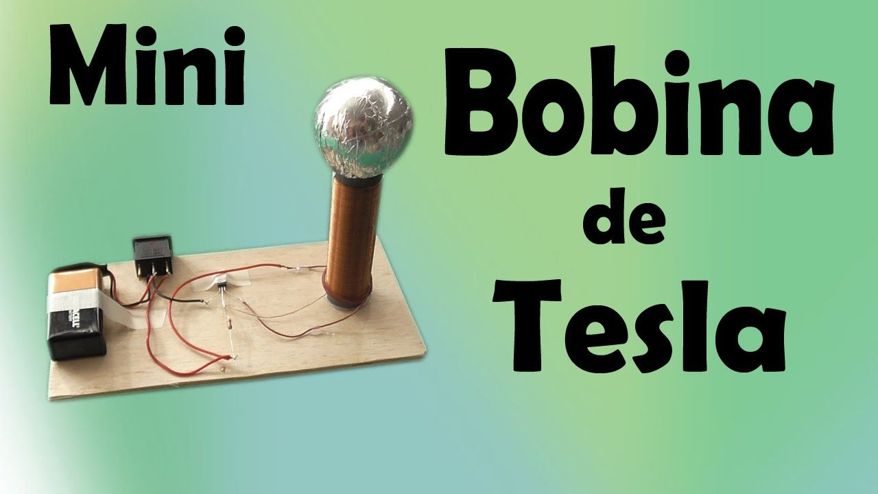 Como Hacer Una Bobina De Tesla Muy Facil De Hacer Bobina De Tesla Bobina De Tesla Casera Proyectos De Fisica