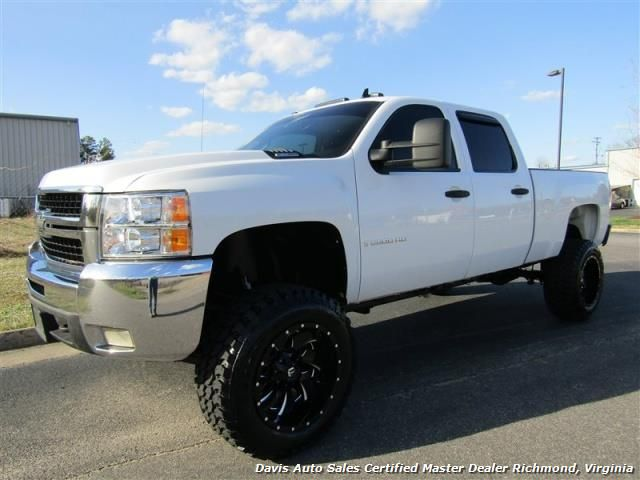 2008 Chevrolet Silverado 2500 HD LT 4X4 Lifted Duramax Diesel 66 Crew Cab Short Bed For Sale In RICHMOND VA