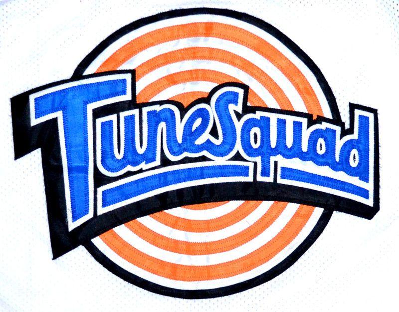 Space Jam Tune Squad 23 Michael JORDAN Blue Movie Basket Jersey s-2xl