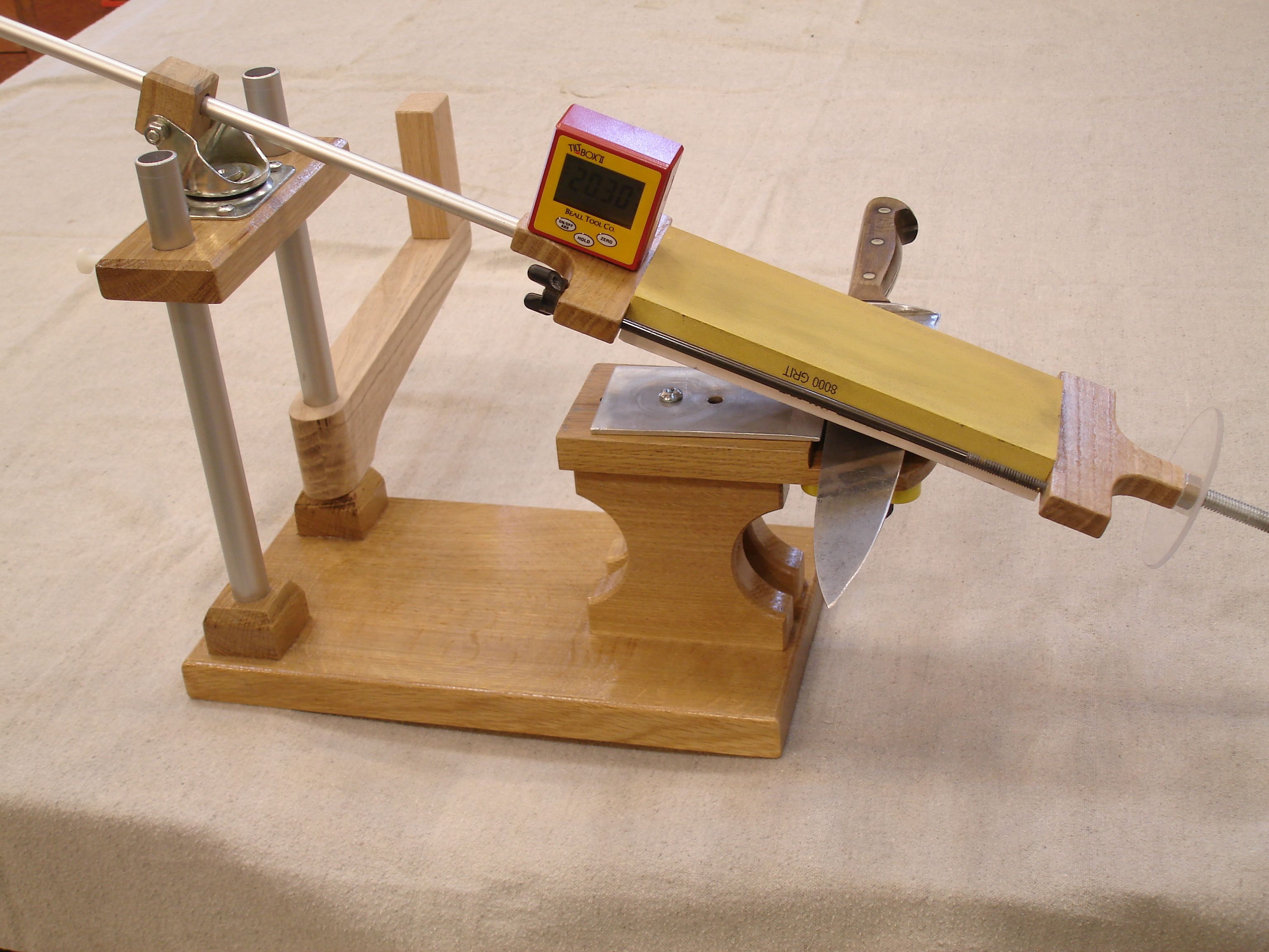 Homemade Sharpening Jig Can T Find The Original Post Just This