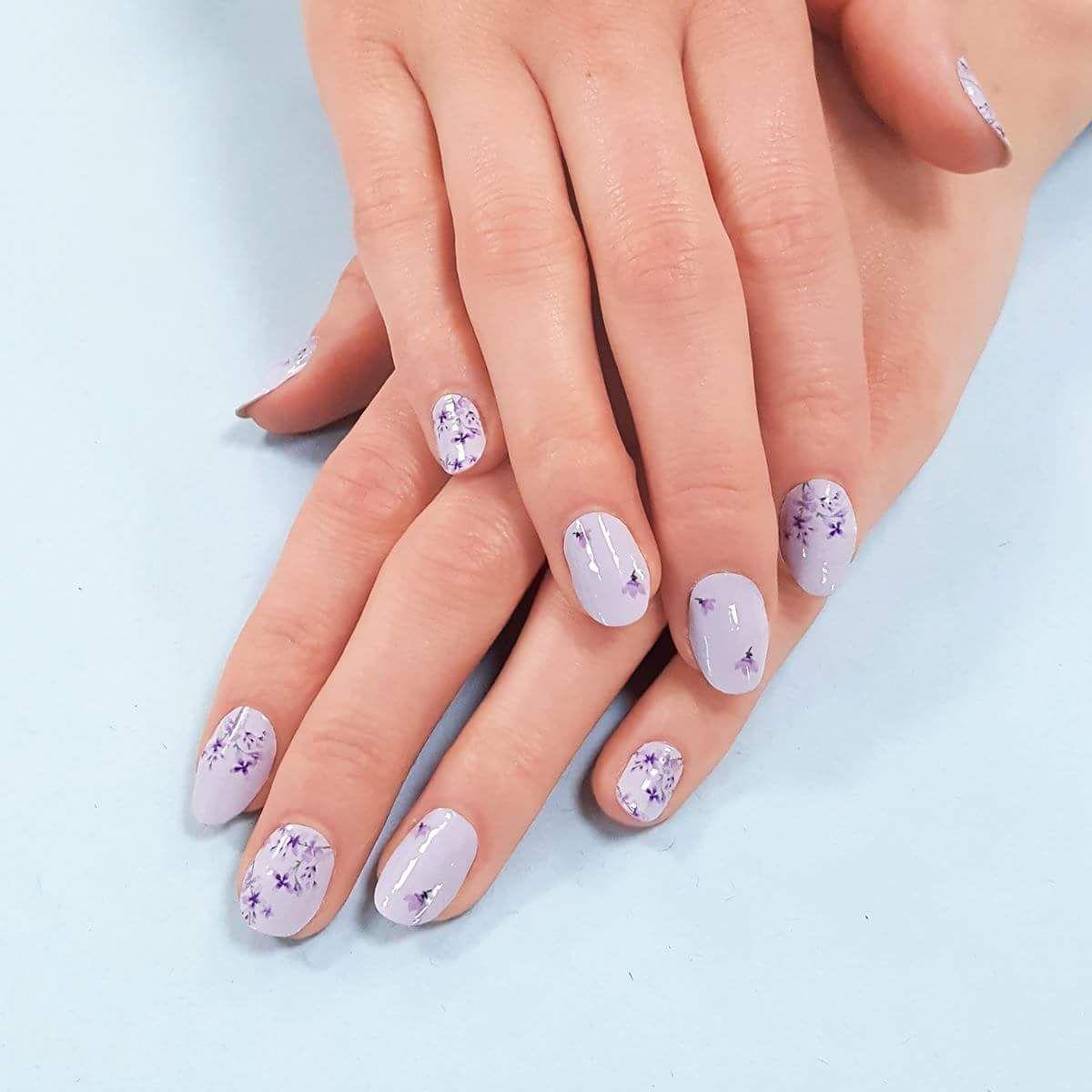 Lavender Hills Colorstreet dry nail polish strips www.mycolorstreet ...