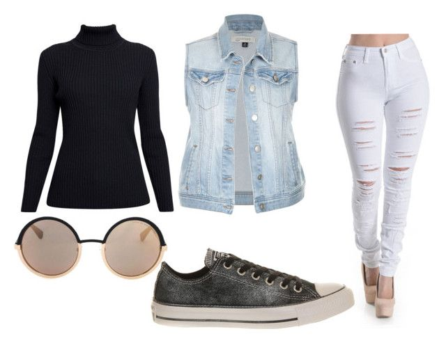 """""""Going out clothes"""" by abbybase on Polyvore featuring Rumour London, Converse and Marc by Marc Jacobs"""