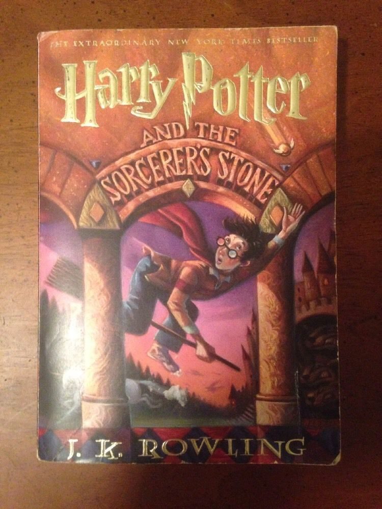 Harry Potter And The Sorcerer S Stone Paperback 1999 1st