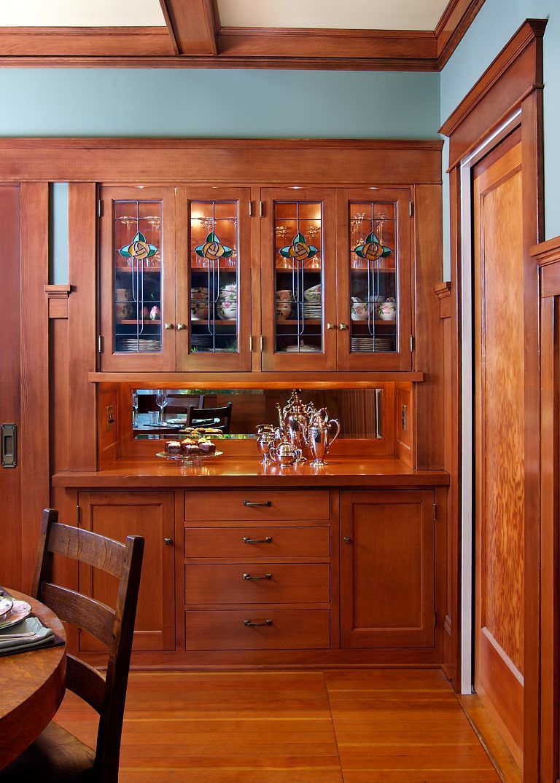 Craftsman Style Sideboard Design By Deb Kadas Interior Studio In Corvallis Or