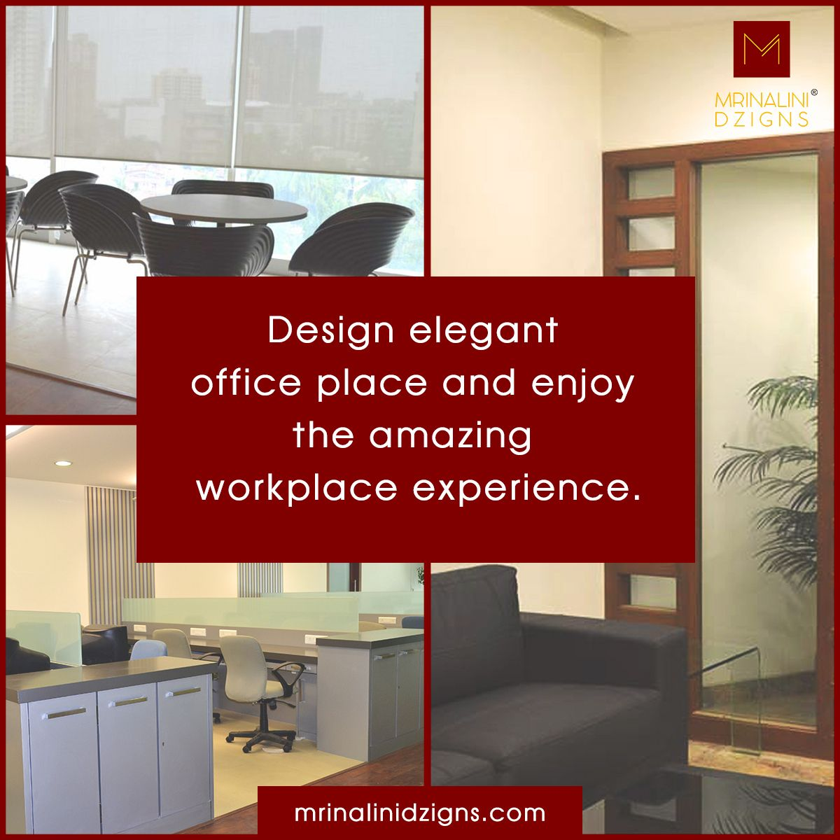 Got A New Office Space? Mrinalini Dzigns Will Help You In Designing Your  New Work