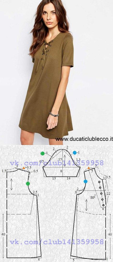 La costura | los patrones simples | las cosas simples | trazos
